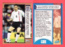 England Martin Keown Arsenal 17